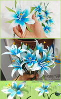 PROGRESS: Silent Princess Flowers from BotW