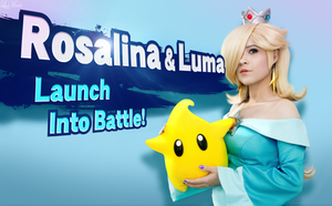 Rosalina and Luma by LayzeMichelle