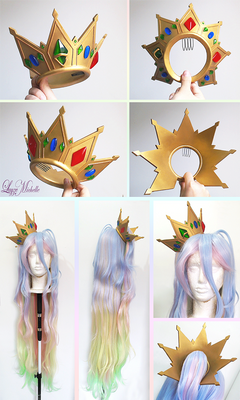 COMMISSION: Shiro's Crown from No game No life