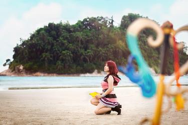 Kairi from Kingdom Hearts III by LayzeMichelle