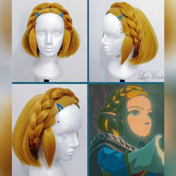 PROGRESS: Princess Zelda (Sequel): Wig