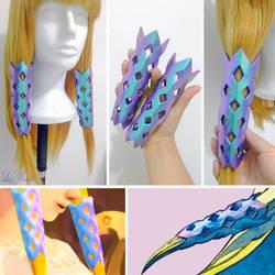 PROGRESS: Goddess Zelda hair Accessories