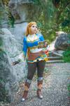 Zelda full body! by LayzeMichelle