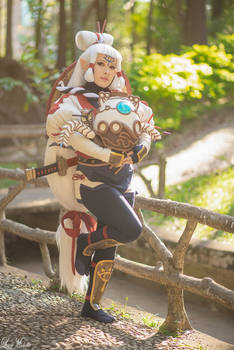 Young Impa Cosplay and Terrako | Age of Calamity