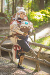 Young Impa Cosplay and Terrako | Age of Calamity by LayzeMichelle
