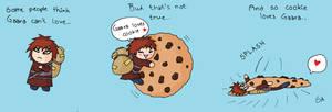 Gaara loves cookie.. by PetiteLilen