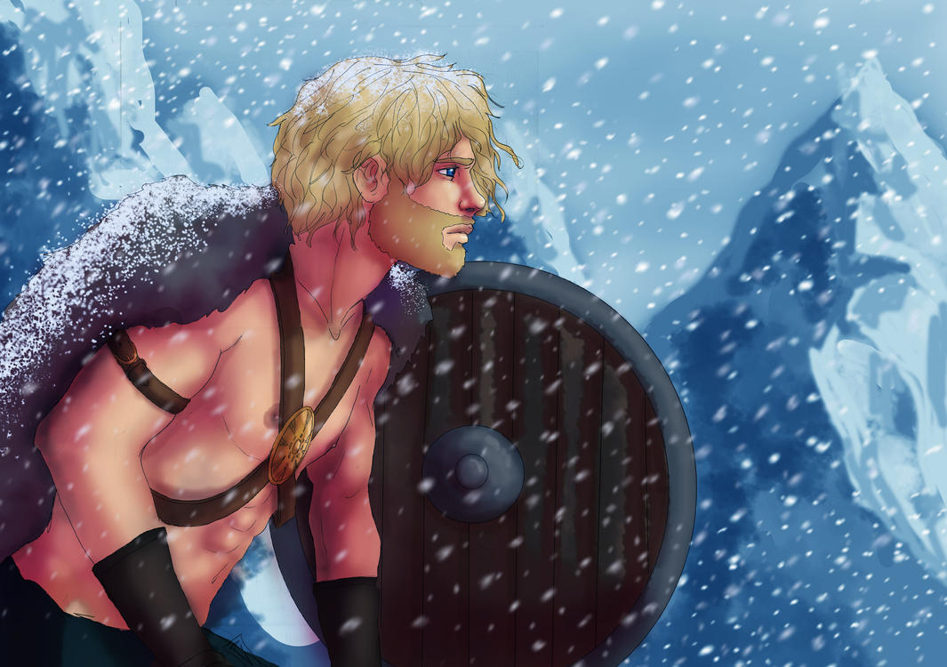 Prince of the Frostbidden Mountains by PetiteLilen