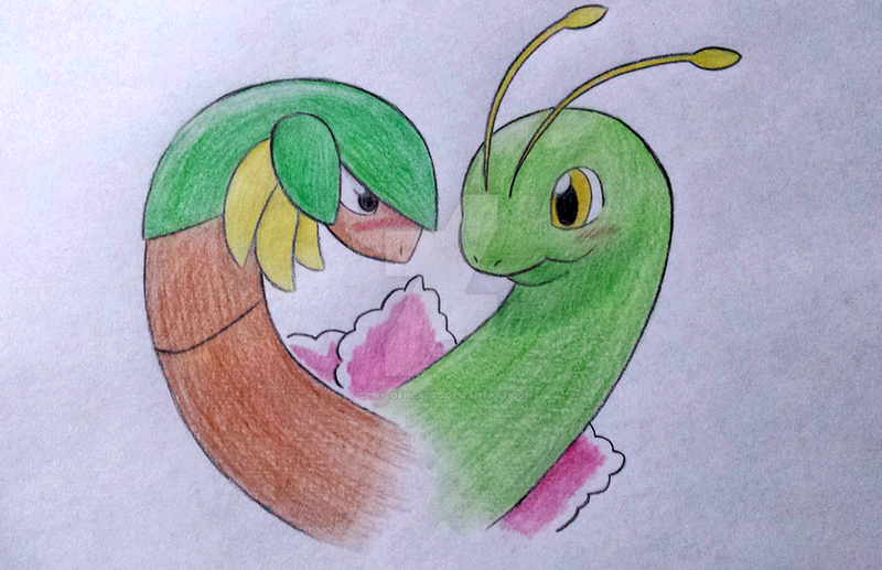 Poke-Couple: Tropius and Meganium by SpiriTofHearts on ...