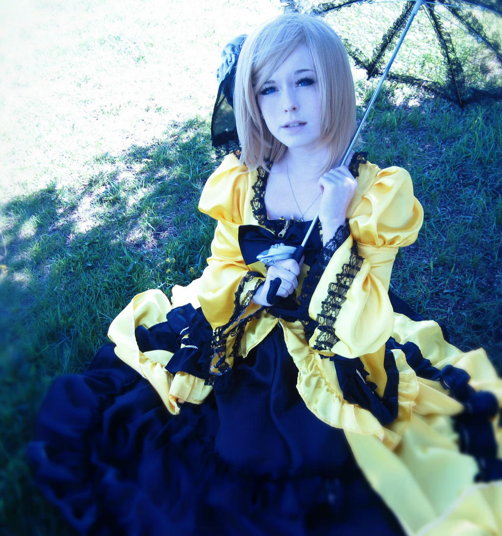 Rin Kagamine - Daughter of evil 2 by CosWeAreKagamine Rin Daughter Of Evil Cosplay