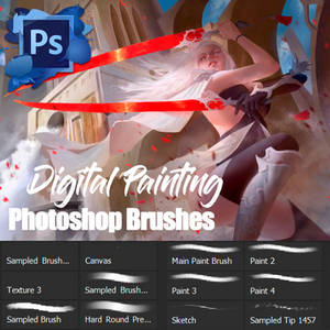 New Default Photoshop Brushes
