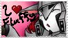 I -heart Fluffy Megatron stamp by ArchangelXAmy