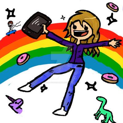 La felicidad :'3 by fanaticadePerry
