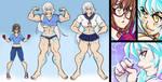 Akari Himemiya Character Reference Sheet by kaisai134