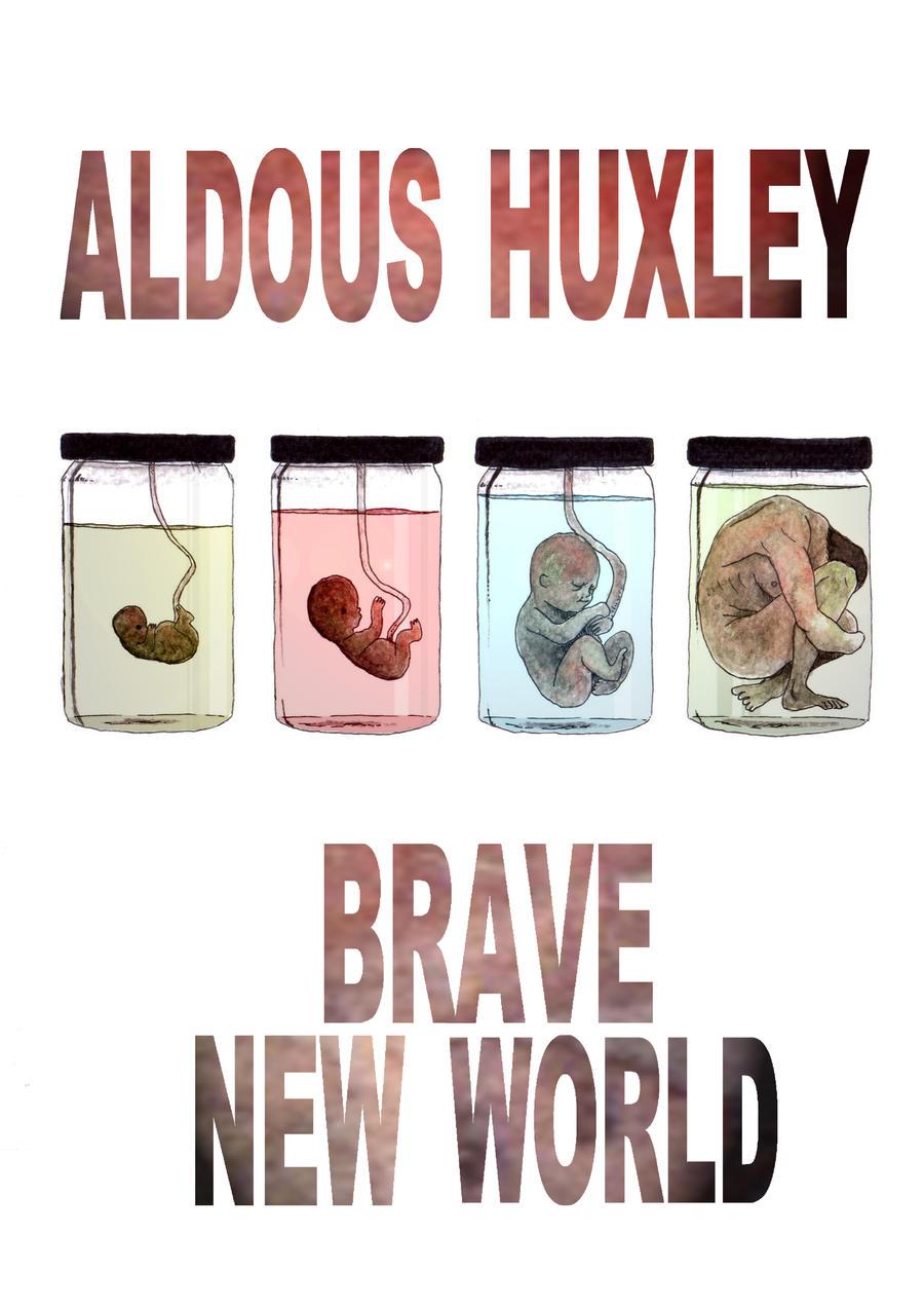 brave cutting edge earth aldous huxley art