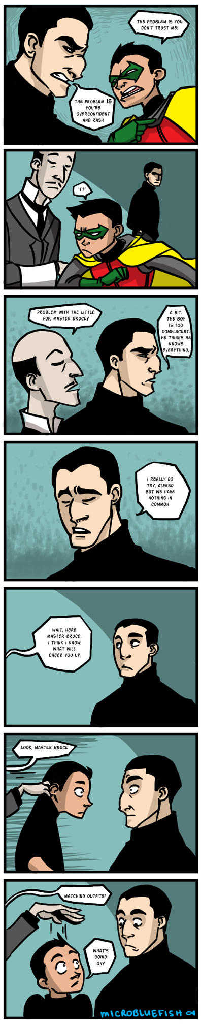 Black Sweaters by Microbluefish