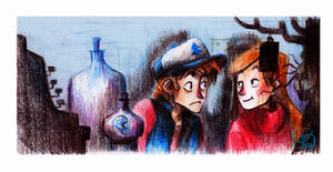 Mystery Twins by Microbluefish