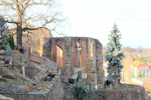 Ruin of monastery church