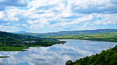 Natural Oasis of Conza's Lake
