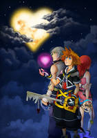 Kingdom Hearts FanArt2014 by Mireru-san