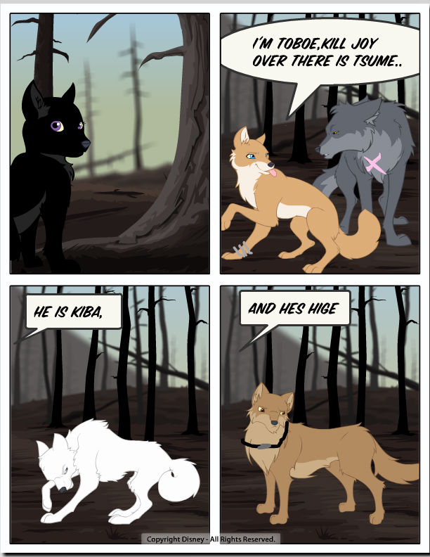 Wolf's rain Fanficton MG comic page 7 by Queenegirl on ...
