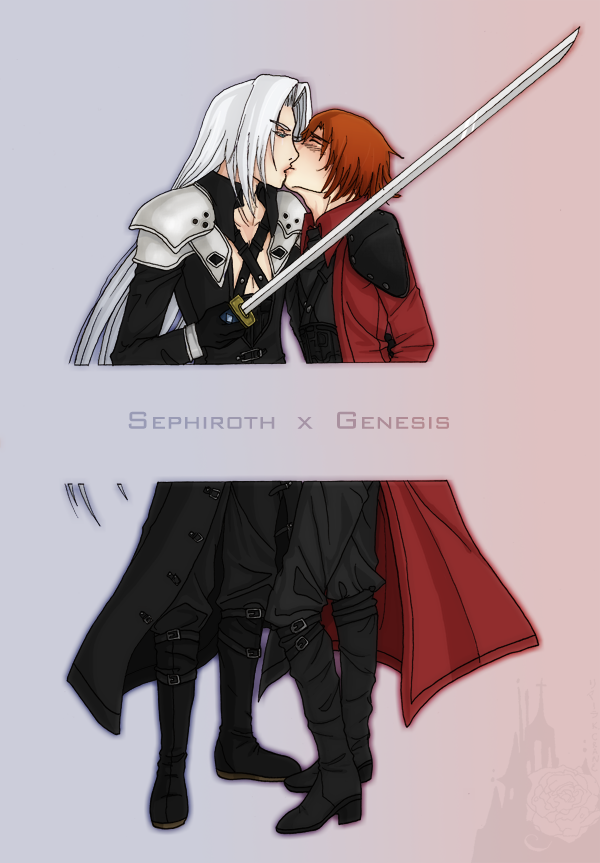 ___Sephiroth_x_Genesis____by_Lady_Liara.