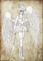 :: Mei - lineart :: by Lady-Liara