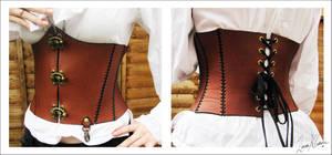 :: steampunk corset ::