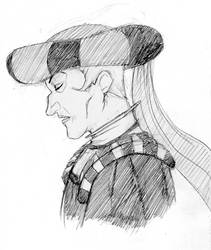 Frollo sketch by Lady-Liara