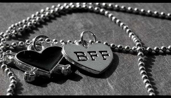 best friends forever heart. I have friends who are