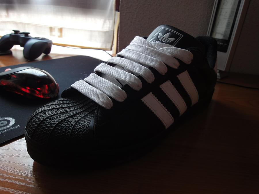 Adidas Superstar Ii Mens Gray Royal Blue Shoes