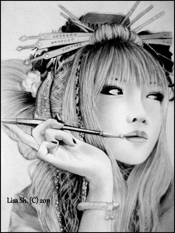 a modern geisha by lisa of the moon on deviantart