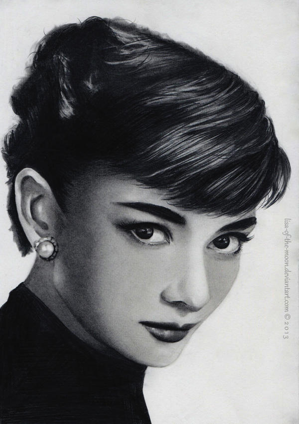 Audrey Hepburn by Lisa-Of-The-Moon