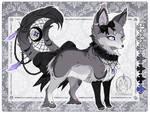 . :Ebony the Dark Beauty Wiccan Kitsumera Ref : . by Jahpan