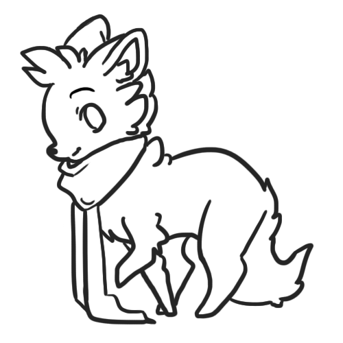 Scarf Dog Base {FREE2USE!} by Lilli-Pop-Designs on DeviantArt