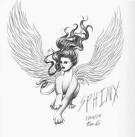Greek Sphinx by DragonsLover1