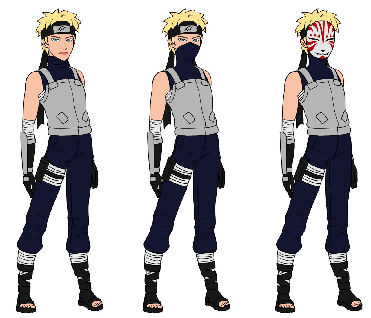 Naruto Oc Aya By Minamino18sayuri On Deviantart: Aya ANBU By DragonsLover1 On DeviantArt