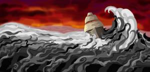 Sea Of Treas Banner