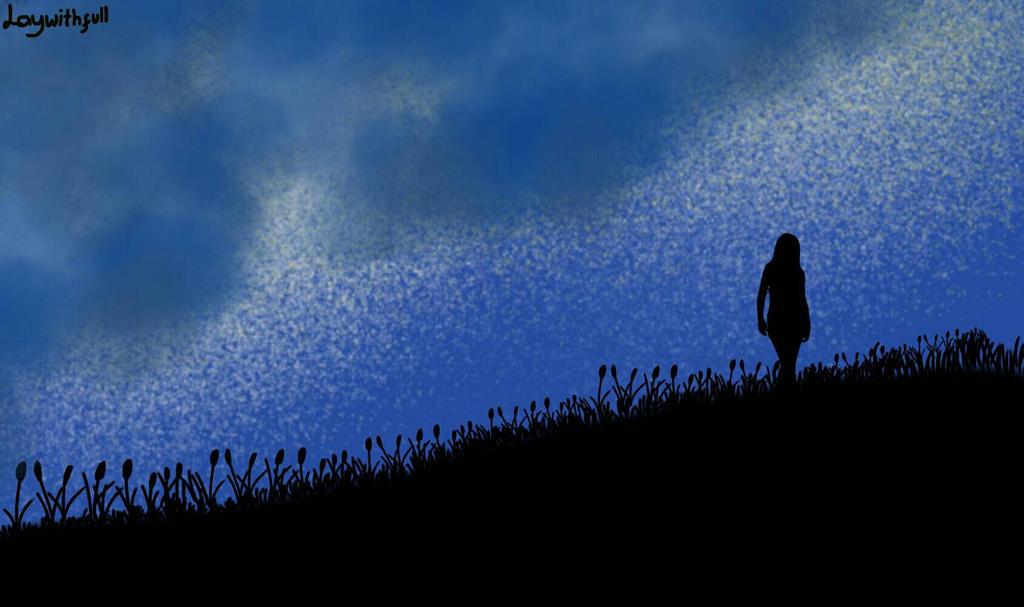 Night Stroll by Laywithfull