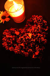 Hearts and flowers..