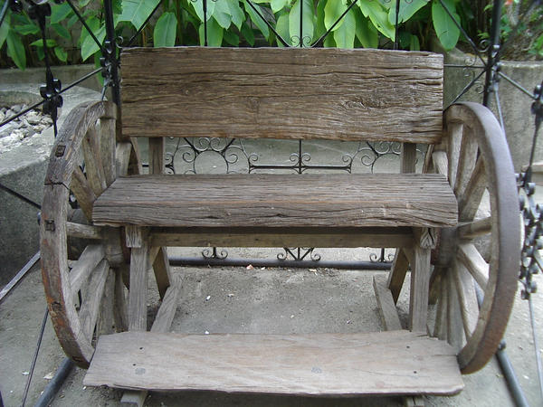 Wood Bench by disenchantedstock