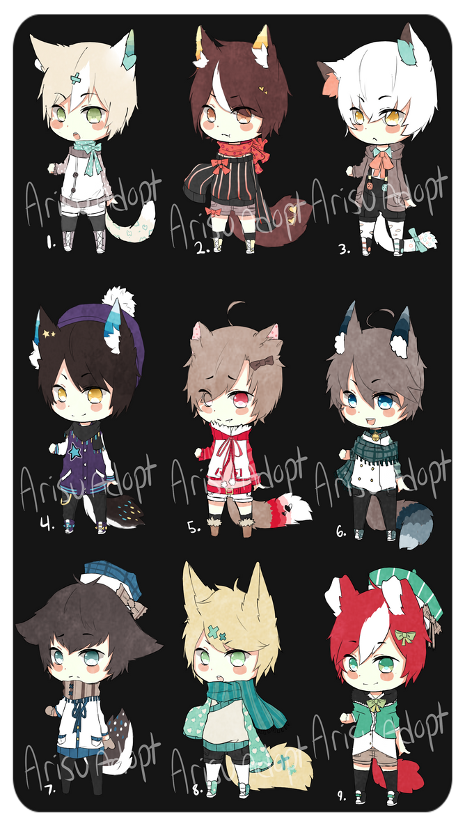 Auction Adopts 3 [ C L O S E D ] by ArisuAdopt
