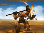 Lithos - Titan of Stone and Crystal