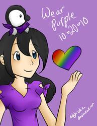 Wear purple 10.20.10 by Ninja-Chic