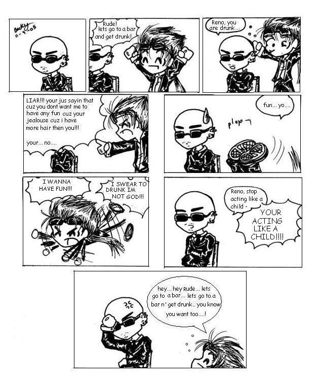 Reno Rude Comic by Ninja-Chic