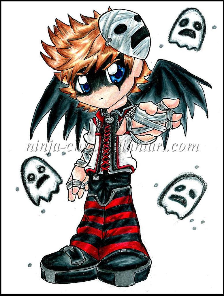 halloween town roxas by ninja chic - Roxas Halloween Town