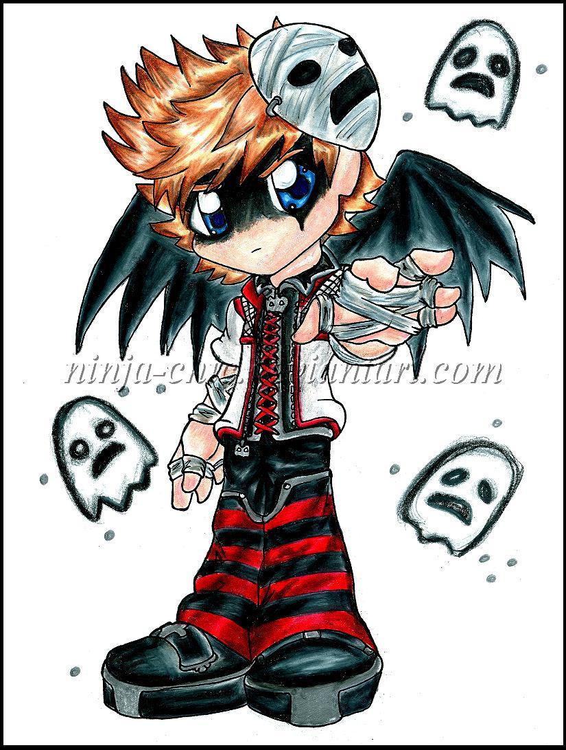 Halloween Town Roxas-: by Ninja-Chic on DeviantArt