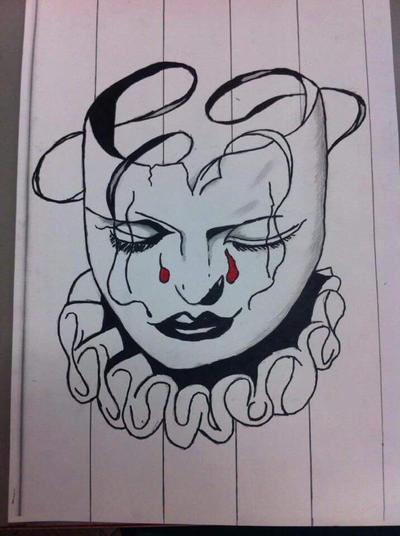 Clown by GhostArtWorks