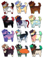 [ canine 300pts/$3 adopt ] (OPEN) by k-ittens