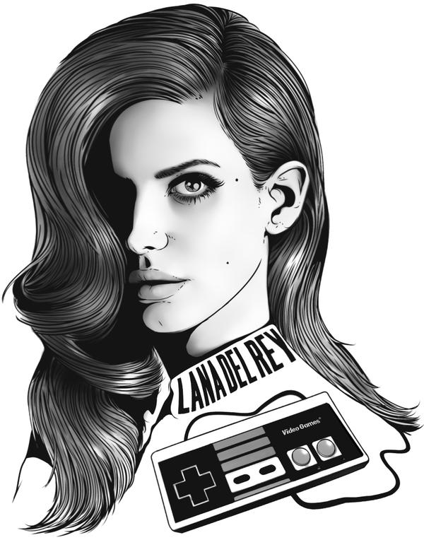 Lana Del Rey - Video Games by SimonPovey