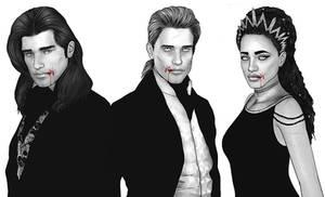 Louis, Lestat and Akasha